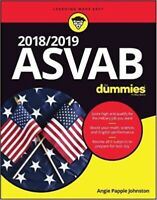 ASVAB for Dummies 2018 / 2019 New Paperback by Rod Powers and Angie Papple