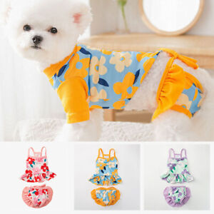 Pet Bikini Clothes Puppy Swimsuit suit Spring Summer Small Medium Dogs Outfit