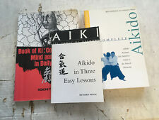 Aikido Book Lot 3 classic books