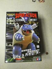 Tomy Super Action Audley Pocket Monsters Pokemon Blastoid Kamex MIB