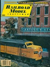 1978 Railroad Model Craftsman Magazine: Workbench/N Scale Steam/Weathering