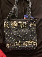 Taylor layne Handbags Large Purse New With Tags. Navy And Green Zipper Closure