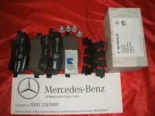 Genuine Mercedes-Benz R171 SLK 200 Front Brake Pads and Sensor A0054206220 NEW