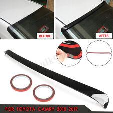 Rear Window Roof Spoiler Wing Lip Visor Sport For Toyota Camry 2018 2019  +
