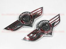 Gas Tank Emblem Badge Decal Vulcan VN 500 800 Kawasaki 1500 1600 2000 m8#G