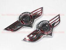 Gas Tank Emblem Badge Decal Vulcan VN 500 800 Kawasaki 1500 1600 2000 m8#G