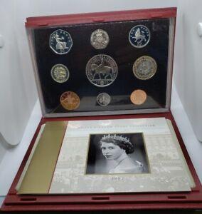 Royal Mint 2002 Proof UK Coin Set