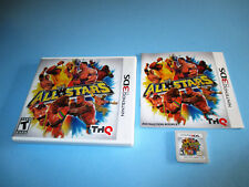 WWE All-Stars Wrestling Nintendo 3DS XL 2DS Game w/Case & Manual