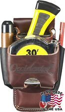 Occidental Leather 5523 Leather Clip On 4 In 1 Tool Tape Holder w Tool Shield