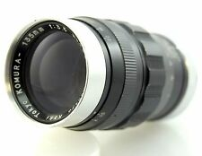 Komura 135mm F3.5 Lens for Leica Screw L39 (or adapt to M) Sankyo Koki Tokyo