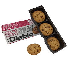 Diablo Chocolate Chips and Cranberry Cookies No Added Sugar