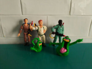 Lot Figurines ancien vintage yolanda ghostbusters SOS fantômes slimer 1984