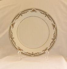 "Royal Doulton REPTON (H5057) 10.5"" Dinner Plate~Platinum trim~Discont'd~ENGLAND"