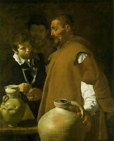 Art Oil painting Diego Velazquez - Portraits The Waterseller of Seville canvas