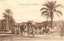 CARTE POSTALE AFRIQUE ALGERIE SUR LA PLAGE DE TEMACINE
