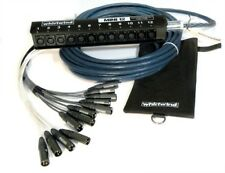 Whirlwind Elite Medusa MINI 12 channel Audio Snake 75 ft ME-12-M-NR-075