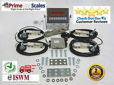 Floor Scale Kit Livestock Stock Kit Build Your Own Scale Load Cells 5,000 lb