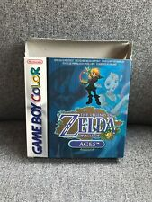 The Legend Of Zelda Oracle Of Ages Gameboy Colour Boxed VGC Collectors Complete