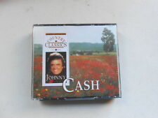 JOHNNY CASH-COUNTRY CLASSICS-3 CD SET + BOOKLET-READERS DIGEST-AUSTRALIA-1995