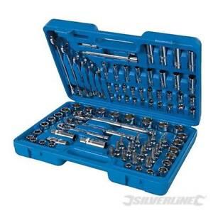 Spanner & Socket Sets Metric AF Torx Imperial Tool Kit Mechanics Home DIY