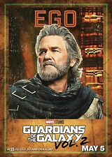 Guardians of the Galaxy Vol 2 Movie Poster (24x36) - Ego, Kurt Russell v11