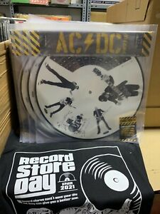 AC / Dc Picture Disque Power Up Through The Mists Of Time RSD 2021 Scellé