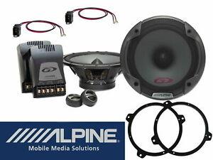 BMW E46 3er Alpine SPG-17CS Lautsprecher Audio System 2Wege 280 Watt Tür Vorne