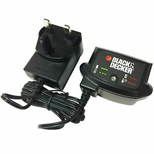 Genuine Black & Decker 90590289 Lithium Ion Slide Charger For BL1518 18V Battery