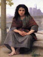 WILLIAM ADOLPHE BOUGUEREAU BOHEMIAN OLD MASTER ART PAINTING PRINT POSTER 3143OMB