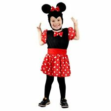 Toddler Mouse Girl costume for children aged 3 years old.