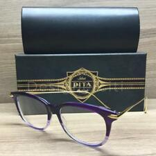 Dita Legends Chic Eyeglasses Purple Crystal Gold DRX 3035 C PUR Authentic 52mm