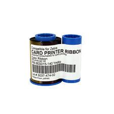800015-140 YMCKO Ribbon for Zebra P300C P310C P520C Card Printer 200 Prints New