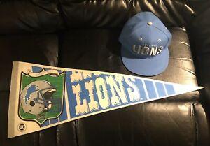 Lions Hat & Banner