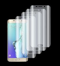4 x Panzerfolie Samsung Galaxy S6 Edge 3D Panzer Folie Klar Komplett Rand Schutz
