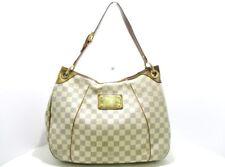 Auth Louis Vuitton Galliera PM N55215 Azur Damier Canvas MI4018 Handtasche