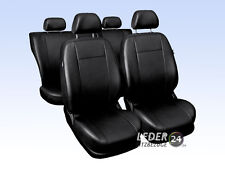 VW Golf 4 Car Seat Covers Artificial Leather Black