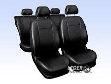 VW Golf 4 Auto Sitzbezüge Schonbezüge Kunstleder Universal schwarz