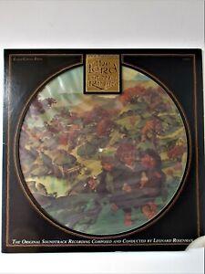 double 33 tours « LE SEIGNEUR DES ANNEAUX » 1978 film d'animation  PICTURE DISC