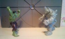 Marvels The Incredible Hulk Vs. The Rhino.