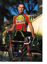 CYCLISME carte cycliste THIERRY MARICHAL équipe LOTTO MOBISTAR 1998