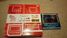 Doble Consola SFC SNES NES FC en caja FAMICOM JAP japonés juega todas las regiones