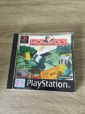MONOPOLY (Sony PlayStation 1, 1997) PS1 PS2 GAME WITH MANUAL
