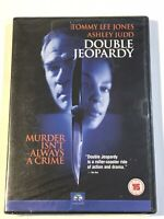 DOUBLE JEOPARDY DVD NEW SEALED 1999 MOVIE FILM TOMMY LEE JONES
