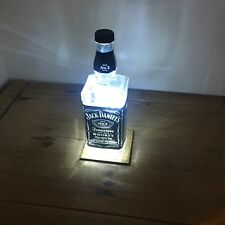Jack Daniels LED Lamp. Home Office Bar Man cave Study Blue or White LEDs