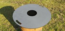 Feuerplatte Plancha für Stahlfässer Öltonnen Männer-Fondue Grillplatte Ø80cm 5mm