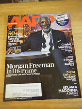 AARP Magazine - Morgan Freeman Cover - February/March 2017