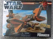 "STAR WARS "" HASBRO SEBULAS PODRACER VEHICLE "" NEW IN UNOPENED BOX, UK FREEPOST"