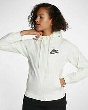 New Nike Sportswear Windrunner Women's Jacket White Cream Sail 904306-133