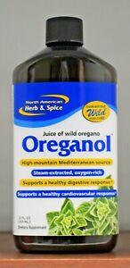 Oreganol P73 Juice North American Herb & Spice Juice of Wild Oregano 12oz