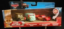 Disney Pixar Cars Diecast gift set 3 Vehicles Lightning McQueen Sarge Fillmore